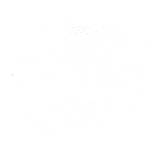 Burger and Coffee Logo